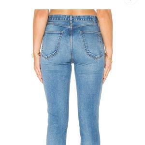 Rag & Bone Lou Skinny High Waist Jeans